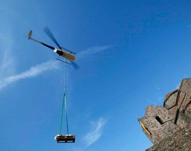 Carga externa en helicóptero