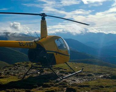 curso vuelo montaña helicoptero