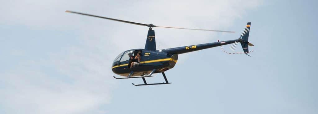 Habilitación Helicóptero R44