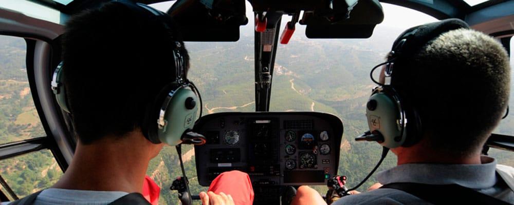 ser piloto de helicoptero