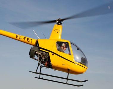 habilitacion helicoptero r22