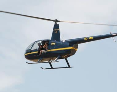 habilitacion helicoptero r44